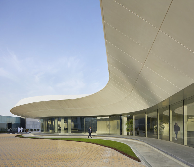 Veech X Veech designed new facilities for Al Jazeera Media Network in Doha, Qatar